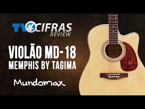 REVIEW VIOLÃO FOLK MD18 MEMPHIS