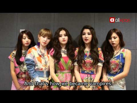 "Interview with 4minute on their ""Volume Up"" comeback!"