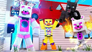 Everyone Gets Super Powers! Minecraft FNAF Roleplay