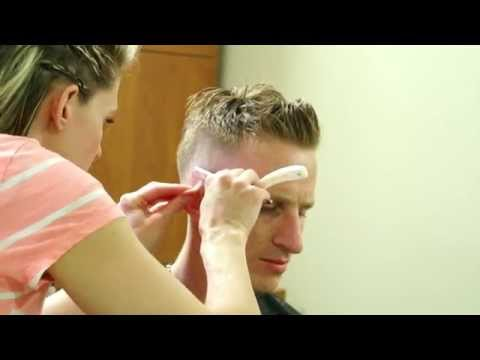 Brad Pitt Oscars Inspired Haircut // Celebrity Haircuts and Hairstyles