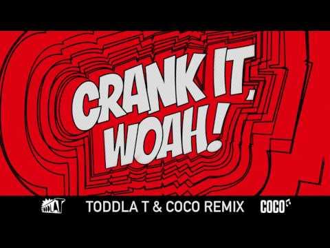 Kideko & George Kwali - Crank It (Woah!) feat. Nadia Rose & Sweetie Irie (Toddla T & Coco Remix)