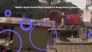 Landa Bazar  Nisbet  Road Chowk Mayo Hospital &amp Baans bazar Lahore Pakistan  VLOG