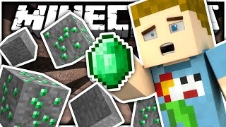 Minecraft | BIGGEST EMERALD MINE EVER!! | Craft Of Clans