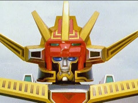 Power Rangers Lost Galaxy - Charged Galaxy Megazord  Lights of Orion