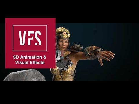 Sergio Leon Cuevas' 3D Reel - Vancouver Film School (VFS)