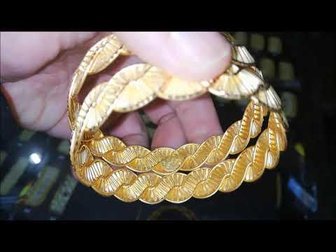 22 Ayar Altın Örgülü Burma Bilezikler & Simli Bilezik Modelleri