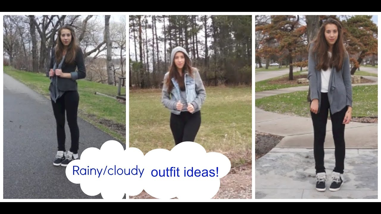 rainy day outfit ideas 2014 - YouTube