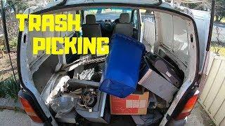 Trash Picking for Scrap Metal & a Bit of Fun!