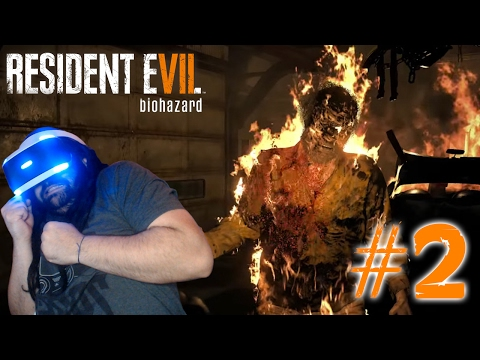 PORQUE NO SE MUEREE!!!   PS4   RESIDENT EVIL 7 VR #2
