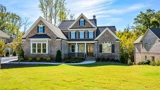 Tour One of NW Atlanta Best Subdivisions and a New Luxury Home for Sale