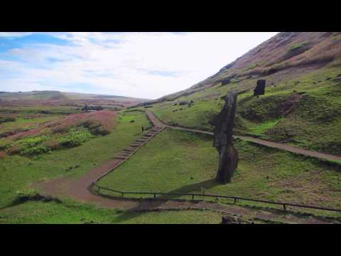 Ashley travels to Easter Island