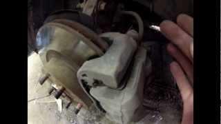 Суппорт Subaru Impreza 08 должен молчать