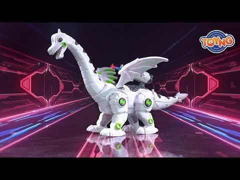 Dragão com Luz, som e fumaça - Dino Tronic 42503