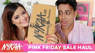 NYKAA PINK FRIDAY SALE HAUL!