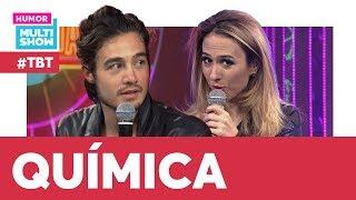 TIAGO IORC e TATÁ mostram muita QUÍMICA no PALCO! 😍  #TBT Tudo pela audiência   Humor Multishow