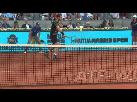 2015 Mutua Madrid Open - Semi Finals: Berdych v Nadal & Nishikori v Murray