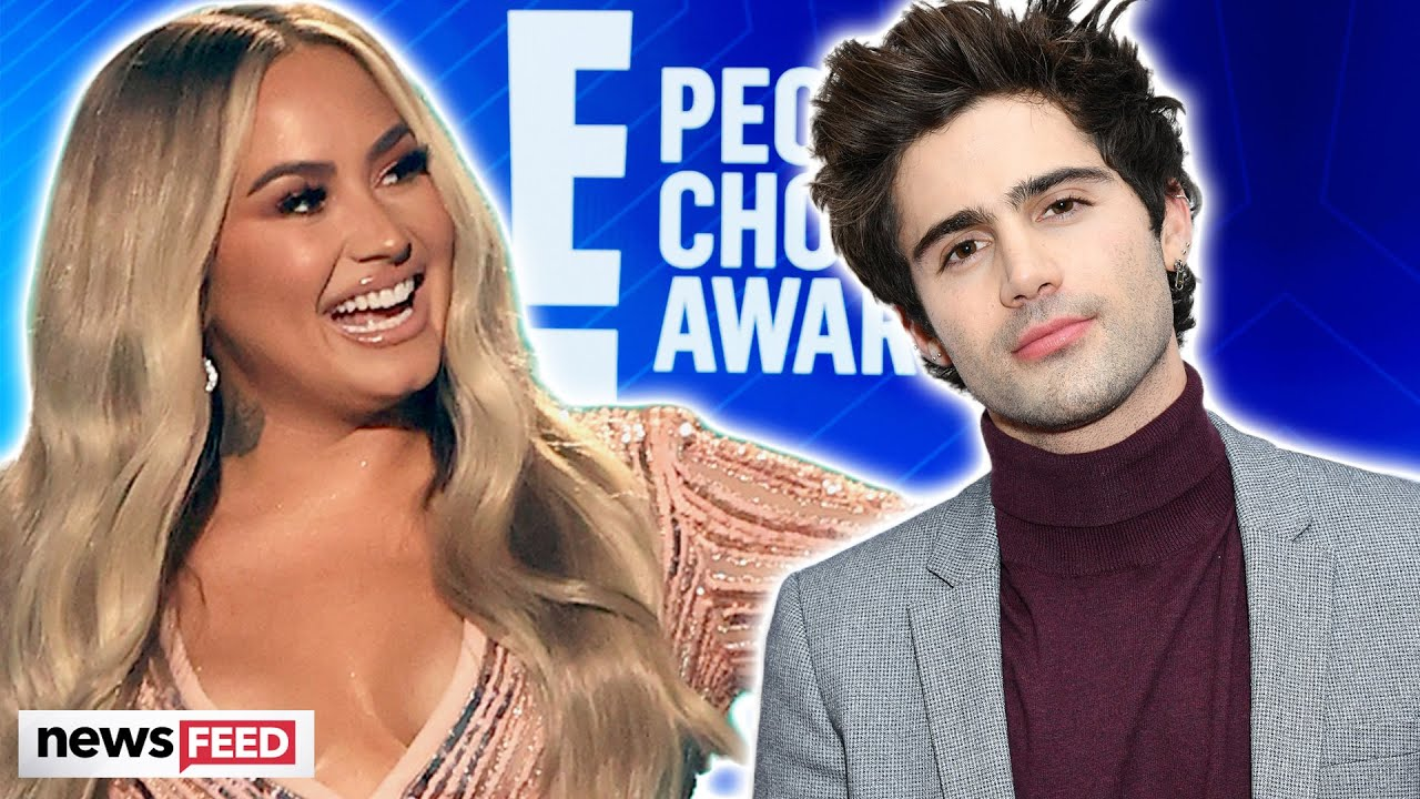 Demi Lovato MAKES FUN Of Max Ehrich Engagement At People's Choice Awards!