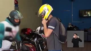 Jornal Acontece - Lei touca descartável disponibilizadas por mototaxistas