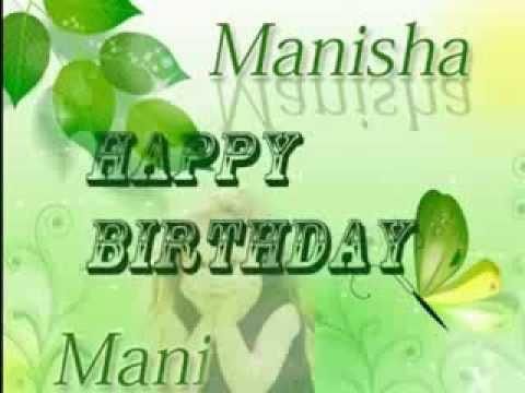 Manisha Sharma Birthday Mani 29Aug2013 YouTube
