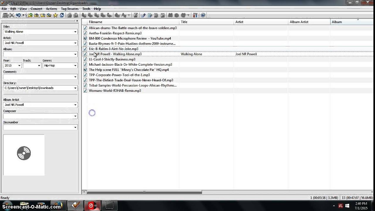MP3 Tag Tutorial - Metadata Tagging Audio Files