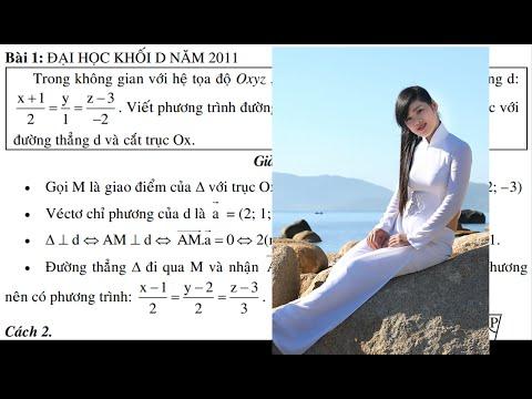 P1 Phương pháp hình học giải tích trong không gian oxyz Thầy Nguyễn Văn Cam