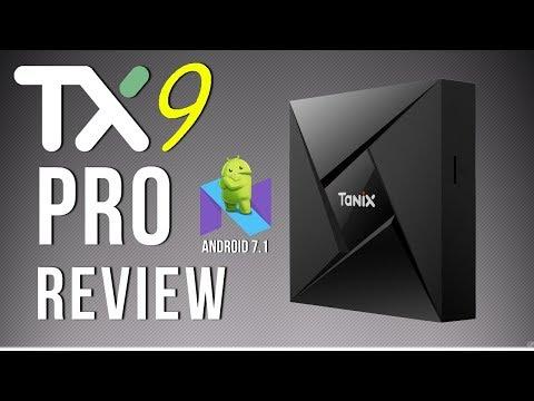 Tanix TX9 Pro Amlogic S912 Octa Core Android 7.1 4K TV Box Review