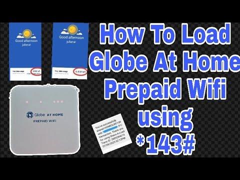 Paano Mag load Gamit Ang *143# sa Globe At Home Prepaid wifi   Super easy  tutorial