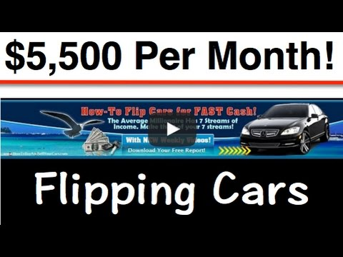 How-To MAKE $5,500.00 a Month Buying & Selling Cars for Profit! - YouTube