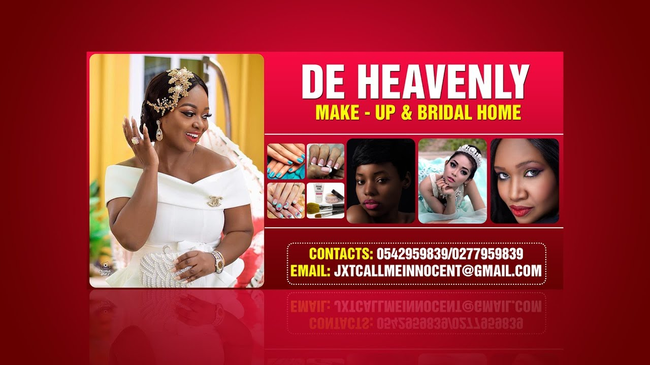 Bridal Make Up And Beauty Salon Banner Design Photoshop Tutorial Youtube