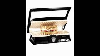 Nova NSG 2438 750-Watt 2-Slice Grill Maker (Black)