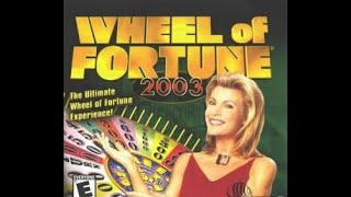 Wheel of Fortune 2003 PC 2nd Run Game #1 (Part 1)