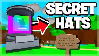 How to get the Secret Hats in Roblox Bubble Gum Simulator!