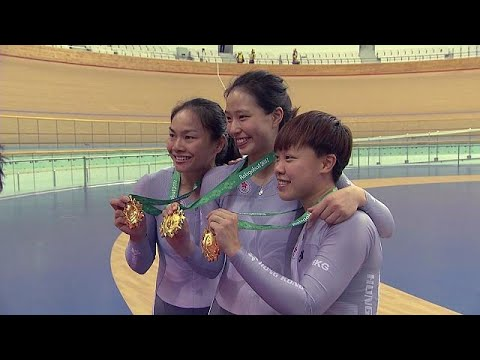 China claims gold in track cycling at Asian Games - sport