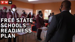 MEC of Education in the Free State Tate Makgoe detailed the province's plan as schools reopen for grades 7 and 12. Makgoe said that the Free State was well prepared and ready to reopen for selected grades.