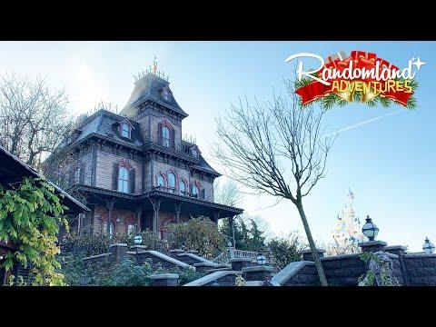 Christmas At Disneyland Paris & The NEW Phantom Manor!