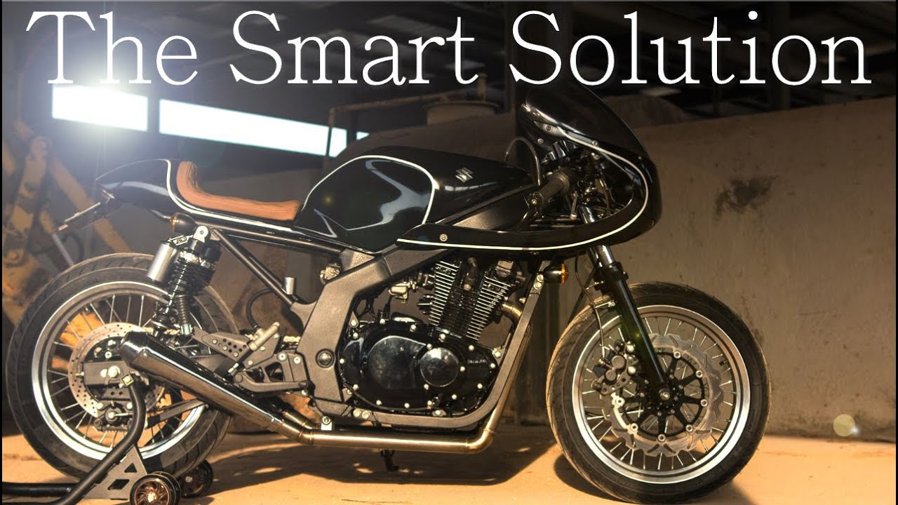 cafe racer suzuki gs 500 by h2 moto youtube. Black Bedroom Furniture Sets. Home Design Ideas