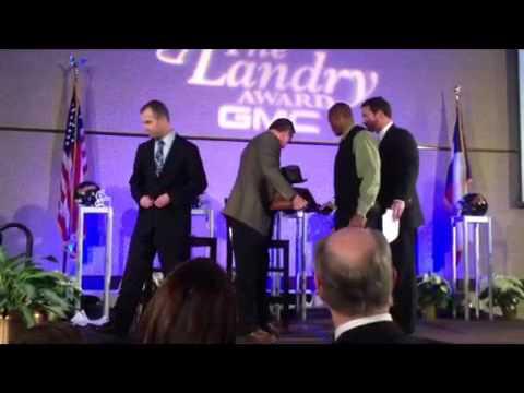 Landry Award Announcement