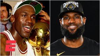 Max compares LeBron & Michael Jordan's NBA Finals appearances | The Max Kellerman Show