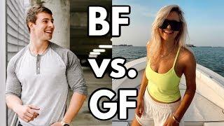 BOYFRIEND vs. GIRLFRIEND | day in the life edition