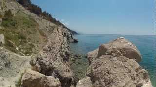 Chorvatsko - GOPRO HD HERO 2 + CANON HG 10 - Makarská riviéra - Baška Voda