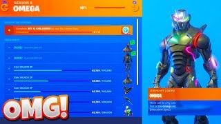 """How To Unlock The New """"OMEGA LIGHTS"""" In Fortnite!! (New Omega Challenges!)"""