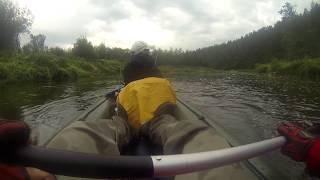 Рыбалка с байдарки  Сплав Ай