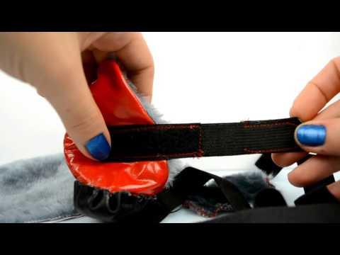Как сшить обувь для йорка своими руками