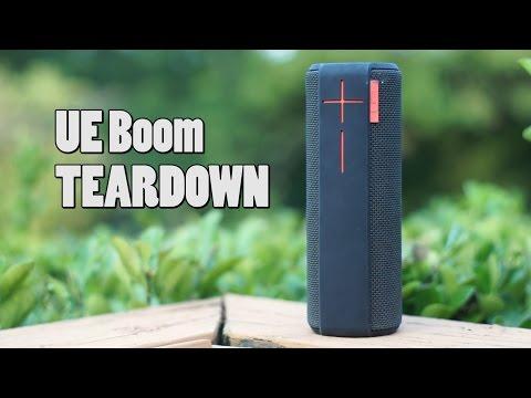 UE BOOM TEARDOWN - THE FIXER