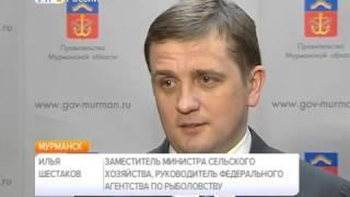 Рабочий визит в Мурманскую область главы Росрыболовства Ильи Шестакова. День второй