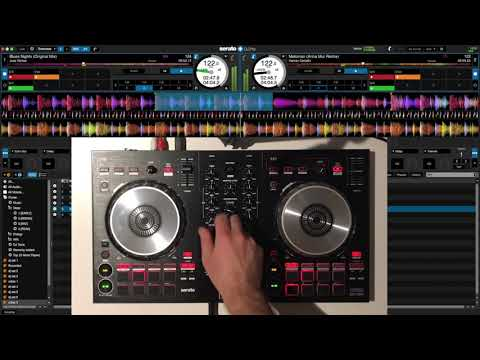 Deep House Mix on Pioneer DDJ SB3 + Serato