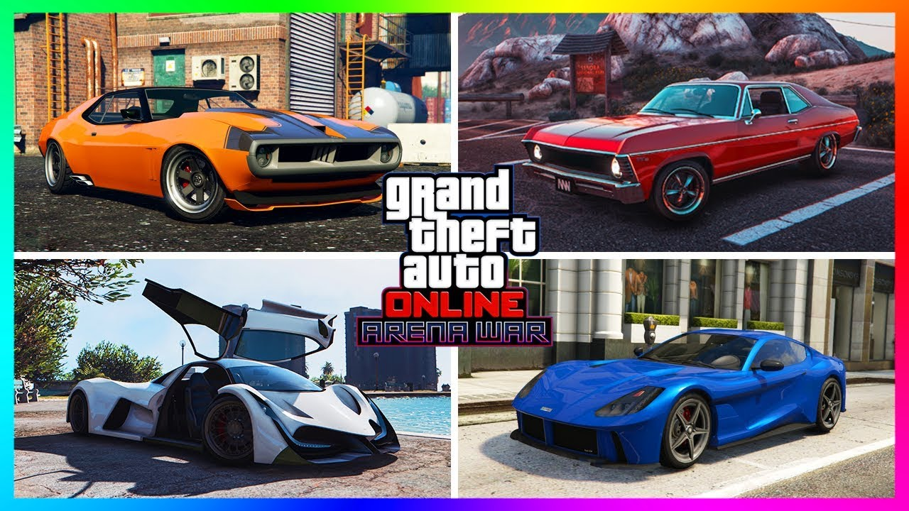 GTA Online Arena War DLC Unreleased Cars/Vehicles - NEW INFO! Release Times, SECRET Unlocks & MO