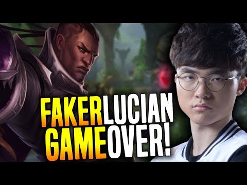 When Faker Plays Lucian Mid the Game is Over! - SKT T1 Faker Playing Lucian Mid! | SKT T1 Replays