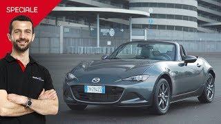 L'auto della felicità esiste e si chiama Mazda MX-5