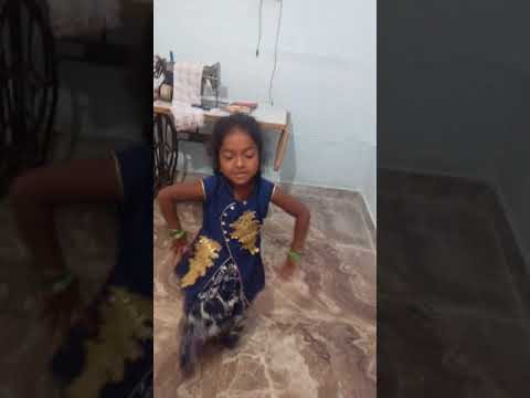 A Little Girl Dance In Telangana Bonalu Song